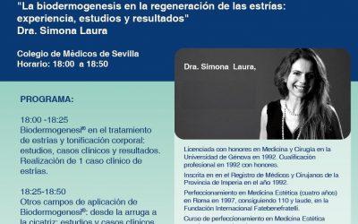 Biodermogenesi® en el Colegio de Médicos de Sevilla