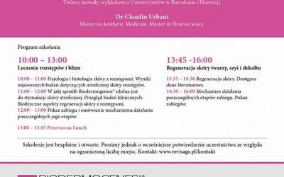 Biodermogenesi®: MasterClass a Varsavia